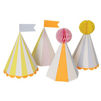 Silly Circus Party Hats(8set)-낱개주문시 랜덤발송